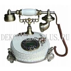 Телефон TL 0210 WS античный белый
