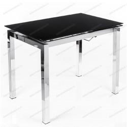 Стол 1118 W черное стекло