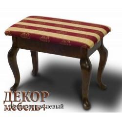 Банкетка РЕТРО с ящиком темно-коричневый