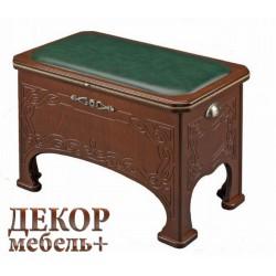 Банкетка КОНСУЛ венге/малахит