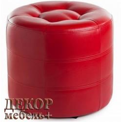 Пуф круглый ПФ7 красный
