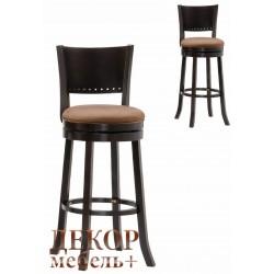 Барный крутящийся стул 9292 капучино