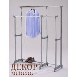 """Стойка для одежды """"СН 4566"""" на колесах (Серый)"""