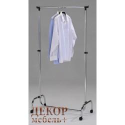 """Стойка для одежды """"CH 4001-L-C"""" на колесиках (Хром)"""