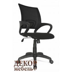 Кресло ФОРМУЛА с черной спинкой
