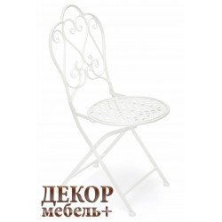 Складной стул «Лав» (Love) белый