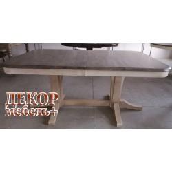 Стол LT T 17547 DARK OAK K532/ BUTTERMILK WW504