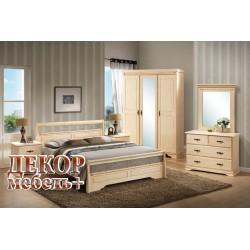 Спальня IREN со шкафом слоновая кость без патины
