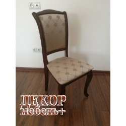 "MK-1248-TB. Стул ""Geneva"", ткань SK-GF Tobacco"
