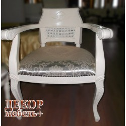 MK-CH02/1ST. Кресло VIRGINIA CHAIR Ivory